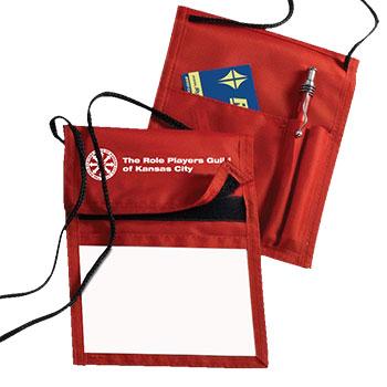 Badge Holder - Red
