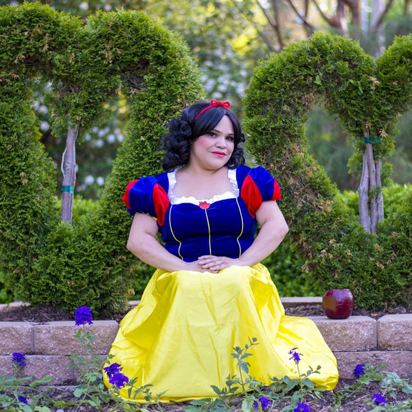 Heather Anderson as Snow White