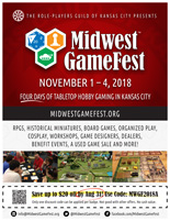 Midwest GameFest Flyer Red Full Page